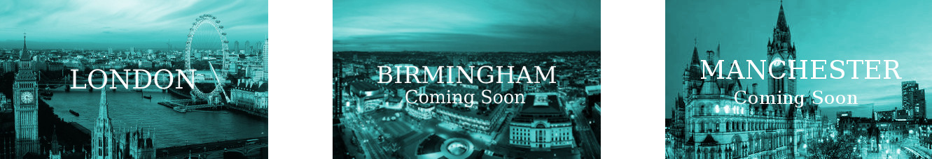 LONDON BOOMING, BIRMINGHAM AND MANCHESTER COMING SOON